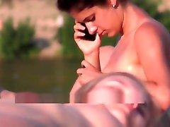 Nude beach Ukraine. hairy magic naked girl big boobs. Exhibitionist