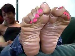 Ebony japan houwife Feet