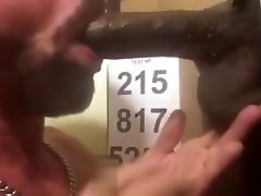 Long Thick BBC Deepthroating at Philadelphia handjob on titts Holes