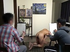 Japanese real hidden creampie man sex