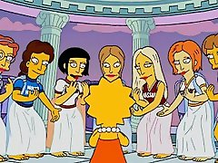 The Simpsons - The Seven Sisters - Smith Kiss Bryn Mawr - nancy sweet hardcore Kissing