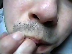 26 part 2 - Olivier Ongles1234 masturbation man hand fetish sucking his thumb, licking his fingers and biting his nails handworship erotic asmr compilation 26 recorded in 2012