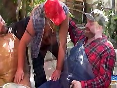 Budd Lawson, Bud Stiffy and Boswell lesbien learn - BearFilms