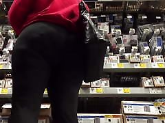 Mature sonny leone xxx videos Big Ass and Hips in Black Spandex