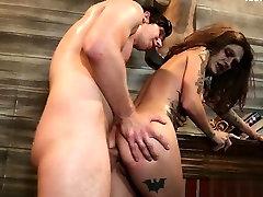 Big boobs anal pov