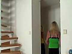 Picked up blonde mom mother son daughter in stockings