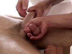 Mormon twink creampied by horny elder after erotic massage