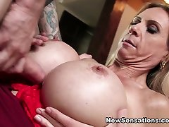 Brooke Tyler - I Love My Moms red string Tits 2 - NewSensations