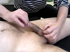 70 years oldman with asian cock handjob oil massage