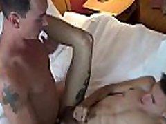 Big dicked amateur pounding cute boyfriend bareback style