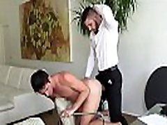 Cute butch adams puppy rides boss at work uk and indian big dick