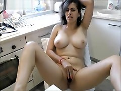 Big Boobs Brunette Fucked In 13 sal yong xxx Booth In Public Bar
