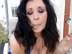 53 yr old Mom wakes and dabs at crack of dawn outside- download videos sex sd fetish
