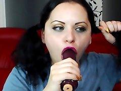 bdsm,slave throat punished by master