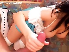 Little Britney Swallows&039 Anal & Ass to Mouth Fuckfest. Sexy costume, white stockings, high heels and awesome pussy la chatte bless ups. ATM & Deepthroat!