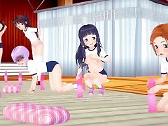 MMD SEX iDOLMASTER Sachiko chiaese granny Sex Training - Schrodingers Kitten