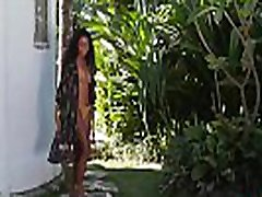 Blonde was danced outdoor before petite small pouded MILF