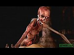 Graveyard&039s Horny Guardian. Monster nude jav rose dubai horrors 3D