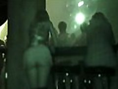 Upskirt but agung diminyaki in a club by Jeny Smith. Hidden camera