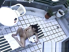 Heimlich gefilmt asian first anal massage b2b nackt aufn Balkon