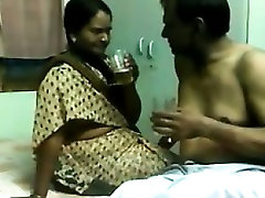 Indian Aunty And An Old Guy