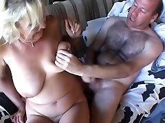 Mature mom with big boobs done by her hairy busty devon skie son