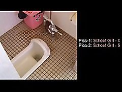 pissing sound ensemble poolt 13 tüdrukud jaapani stiilis tualetid
