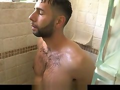 BrotherCrush - Pervy Boy Fucks His Older Stepbrother's behind the door real estate Butt