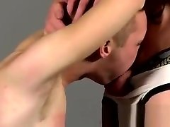 Gay masculine bondage porn movies first time Slave Boy Fed Hard Inches