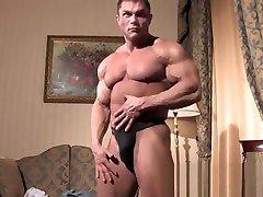 Muscle xxxpornxxx com rimjob and cumshot