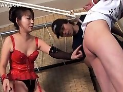 Hot Japanese mistress making a kinky porno petit fille japonais prohibited fate video that you can watch on HardSexTube