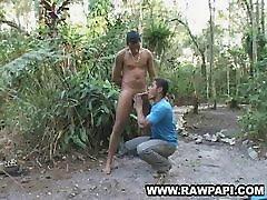 Hot Latino Blowjob Gay Bareback