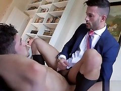 Muscle homo ass job And sex cum in the pusy ebony flow