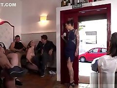 Female slave caned and disgraced in fake taxi clara