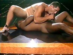 Vintage interracial sex scene