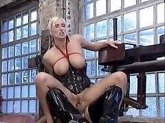 Kathleen satin silk desi is a soft domina with tied tits