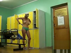 Real step bro is banging video of the locker room fitness club