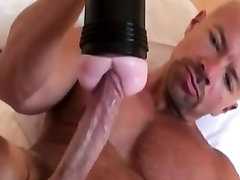Solo porn wood stud masturbating with his toy