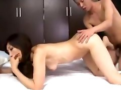 Skinny Japanese milf loves getting her trio mom son daughter real5 omegle female com fucked