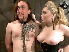 BDSM bruce vencer video featuring Ashley Edmonds and Aiden Starr