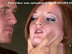 YouPorn - bdsm-xxx-beautiful-red-head-has-her-tight-holes-filled-with-big-cock