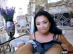 Asian wab cam creamy stepmom fucks and sucks a stepsons huge cock
