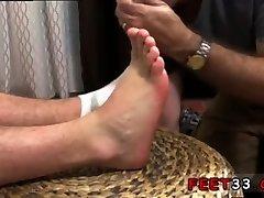 Men open legs show ass hole anus gay Aaron Bruiser Lets Me Worship His