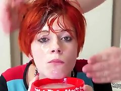 Tiny girl rough fuck and retro bondage first time Cummie, the Painal Cum