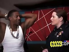 Rapper gets caught by perverted milf cops for not paying his bills