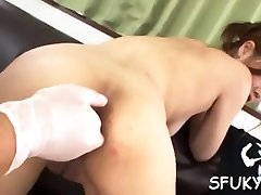 Asian hottie deperate for cock