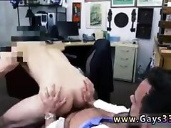 Straight with gay male first time porn and horny guys video I took him
