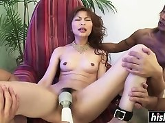 Asian cutie wants more stiff cocks
