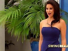 SWINGER couples swapping one another and TRYING BISEXUAL stuff