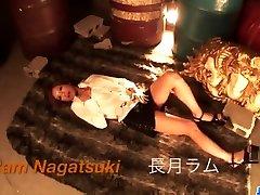 Strong pussy play with toys for naughtyRamu Nagatsuki - More at javhd.net